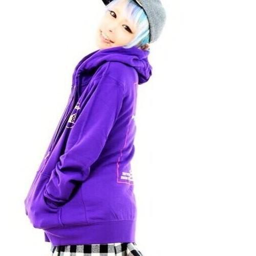 Rスプリングパーカー(purple)