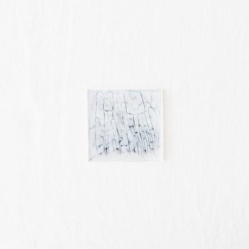 12cm Squareプレート 藍