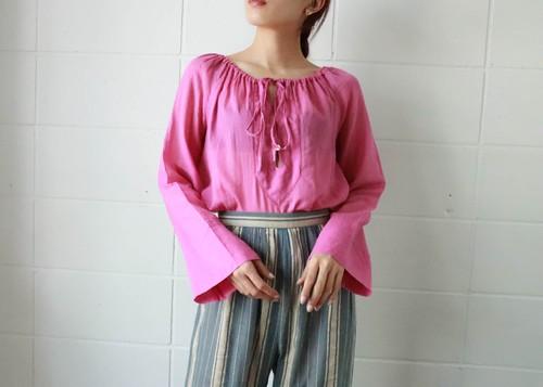 Gucci pink purple summer tops
