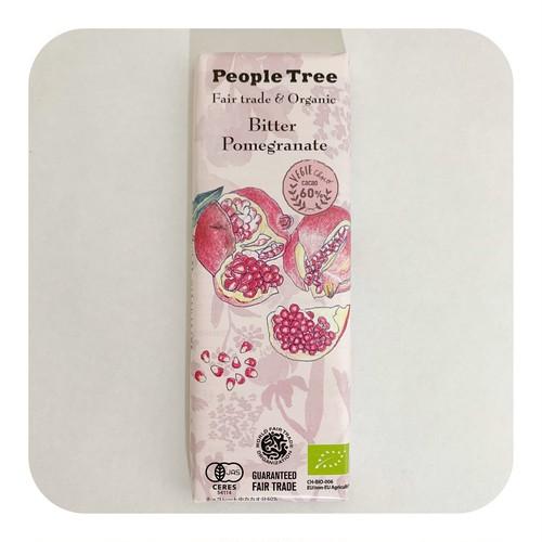 People Tree フェアトレードチョコレート <ビター・ザクロ>