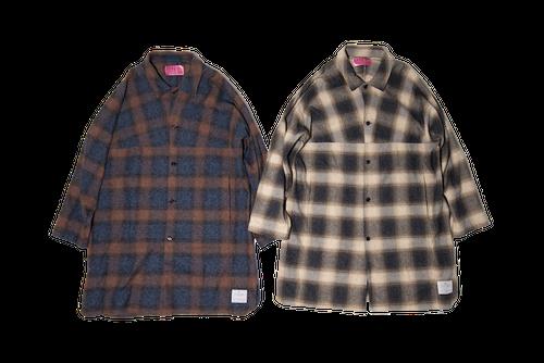 EFFECTEN(エフェクテン)splitter over shirts coat