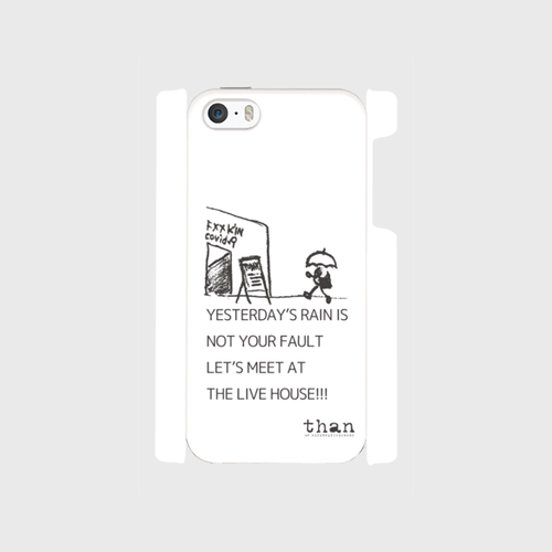 iPhone5/5s/SE対応【than / LET'S MEET AT THE LIVE HOUSE!!!】than original phone case