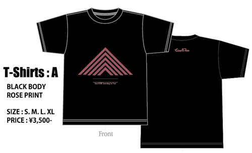 【Eins:Vier / Tour2018 Searching For Youオフィシャル】TEE Type A