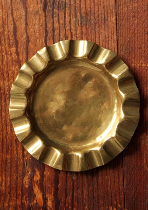 真鍮(ブラス)製灰皿