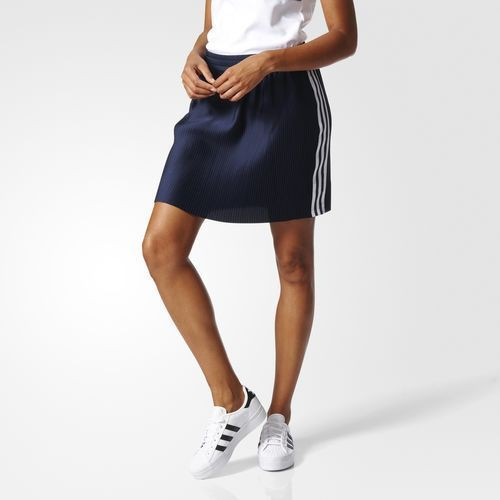 (アディダス オリジナルス) adidas Originals adicolor DX BK2316 WOMEN 3 STRIPES SKIRT LEGEND INK