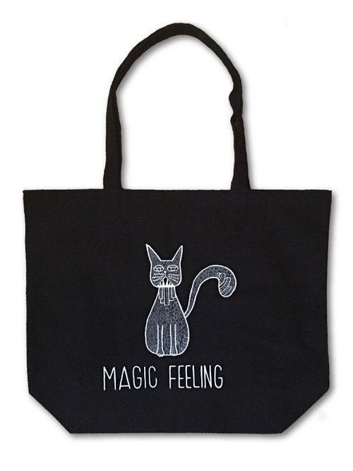 Hand Drawing Tote Bag / Cat