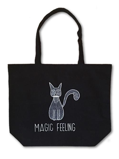 Hand Drawing Tote Bag / Cat