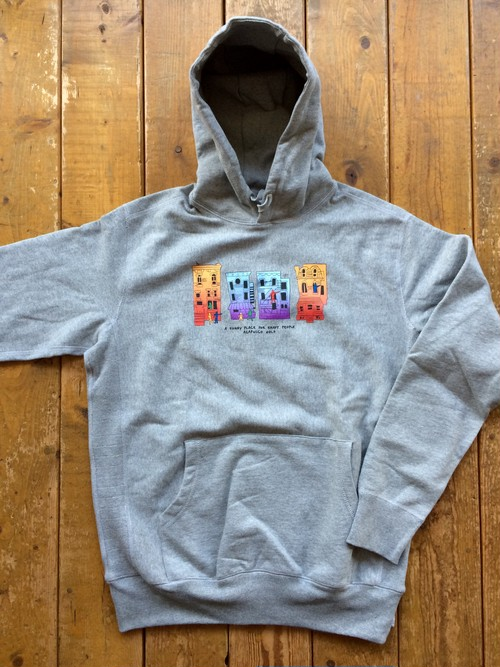 [ Acapulco Gold ] TRIBE BUILDING PULLOVER HOODIE