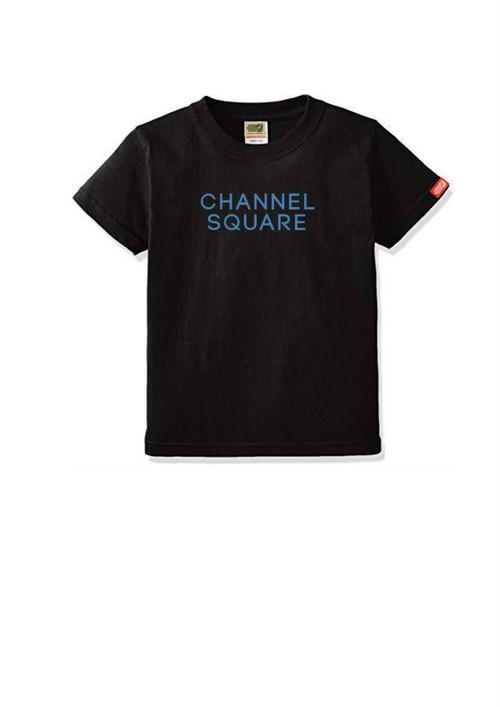 ロゴTシャツ BLACK×BLUE