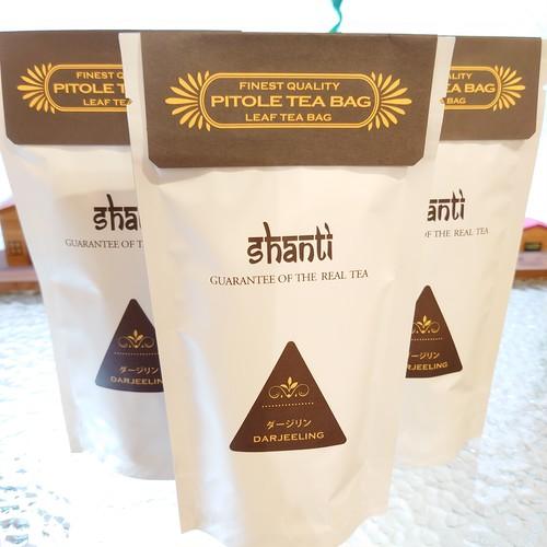 ダージリン テトラ型ティーバッグ7個入り インドの紅茶
