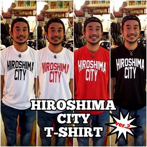 HIROSHIMA CITY Tシャツ ver.2