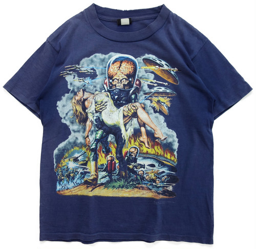 90年代 マーズ・アタック 映画 Tシャツ 【M】 | MARS ATTACKS ティム・バートン アメリカ ヴィンテージ 古着