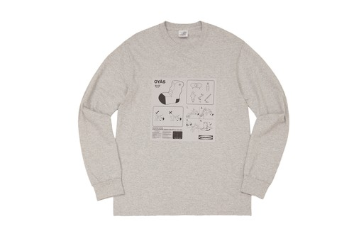 WHIMSY / OYAS L/S TEE -HEATHER GREY-