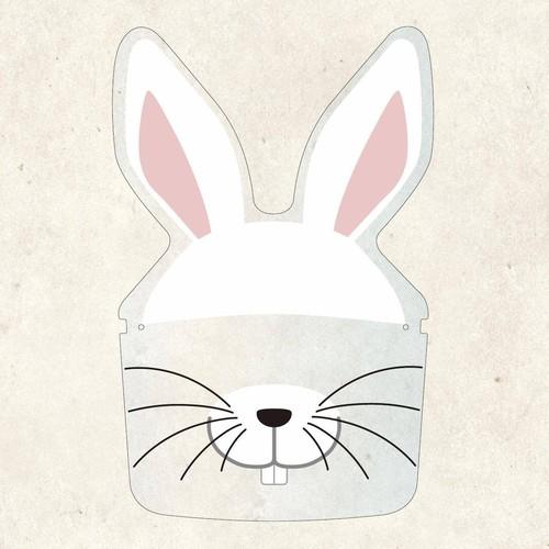 FS0028ウサギ※メガネフレームは別売りです。