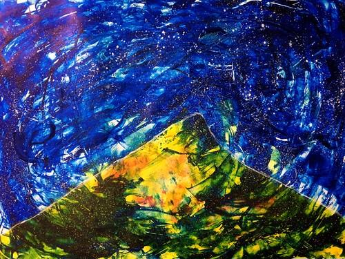 "channeling paint ""tomoshibi"""