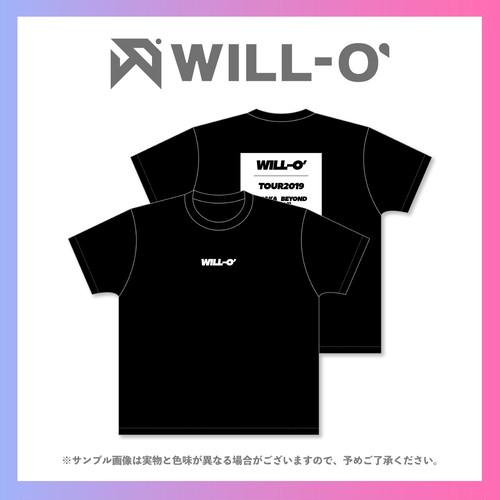 「#DSPM STREAM FESTIVAL」WILL-O'・オリジナル企画商品/2019ツアーTシャツ(メンバーサイン入り)