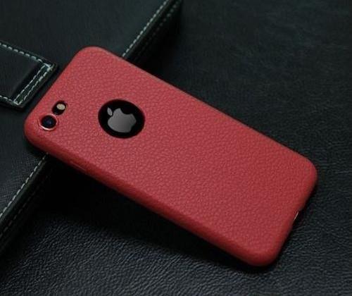 iPhone7 カバー スマホ ケース スマートフォン カバー 革 フェイクレザー シンプル 高級 マット レッド vwab120