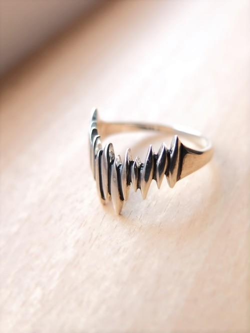 chiaro~キアロ~silver ring 燻し