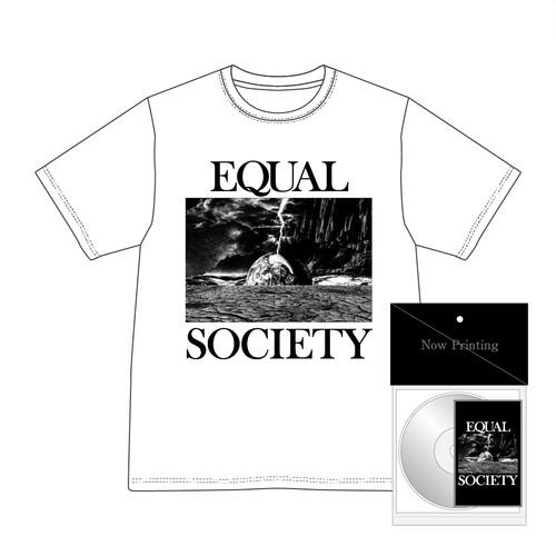EQUAL SOCIETY T-Shirt Ver.1+Boot Cassette & CDR set WHITE [1901]