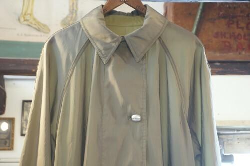 90's green reversible light Coat
