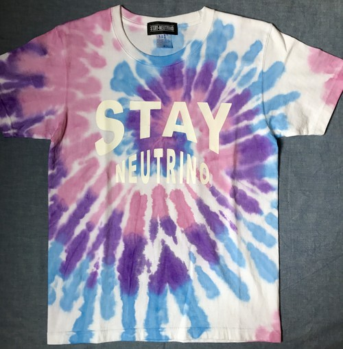 STAY NEUTRINO TIEDYE Tシャツ typeC