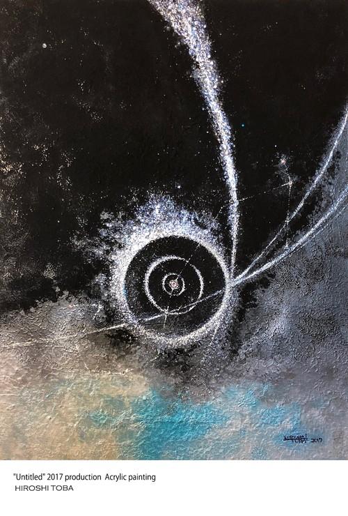 ポストカード -宇宙アート・さそり座-
