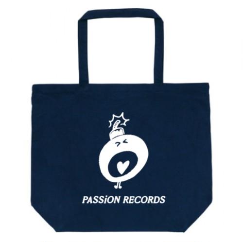 PASSiON RECORDS トートバッグ ネイビー