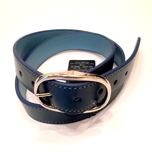 Reversible Belt Navy×Saxe