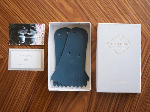 【blue】Shoes quilt(シューズキルト)