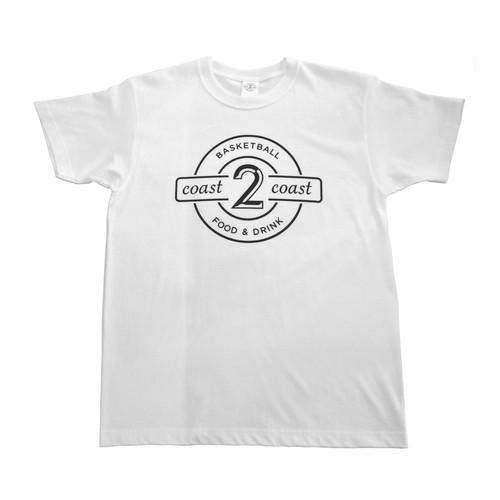 white logo T-SHIRTS