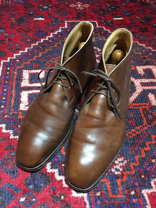 .Crokett&Jones WOBURN LEATHER CHUKKA BOOTS MADE IN ENGLAND/クロケット&ジョーンズレザーチャッカブーツ 2000000030791