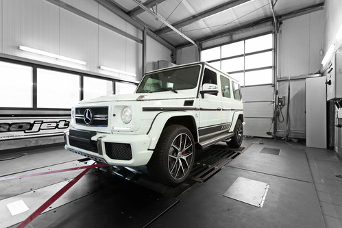 TECHTEC Mercedes G63 ECU TUNING