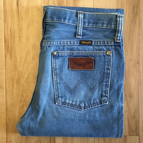 "Wrangler 936DEN SLIM FIT W30inch  ""MADE IN USA"""