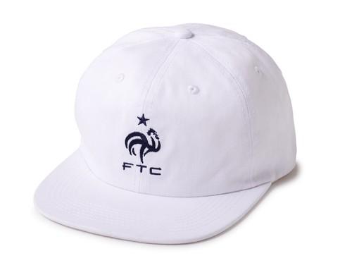 FTC / COQ 6 PANEL CAP -WHITE-