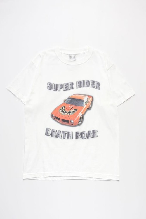 SUPER RIDER TEE TYPE 1 (WHITE)