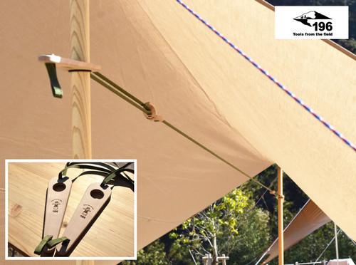 196 ひのきのキャンプ用品 ハンギングベルト 196hinoki-093 アウトドア キャンプ テント サイト グッズ 吊るす 干す 明かり ランプ ライト ナチュラル