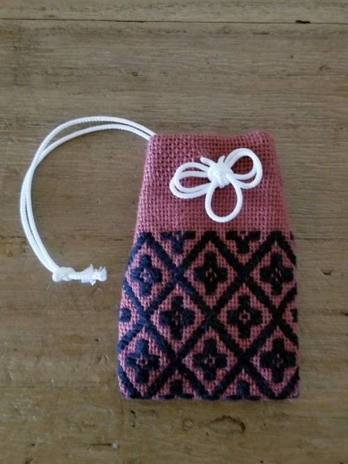 【花十字】御守り袋型・匂い袋