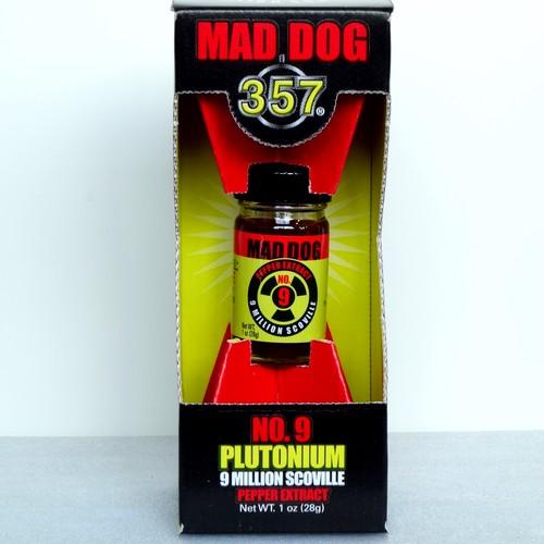 マッドドッグプルトニウム900万shu (Mad Dog 357 Plutonium 9 Million Scoville Pepper Extract)