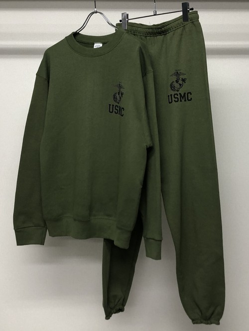 1990s USMC 2PC SWEATSHIRT + JOGGER