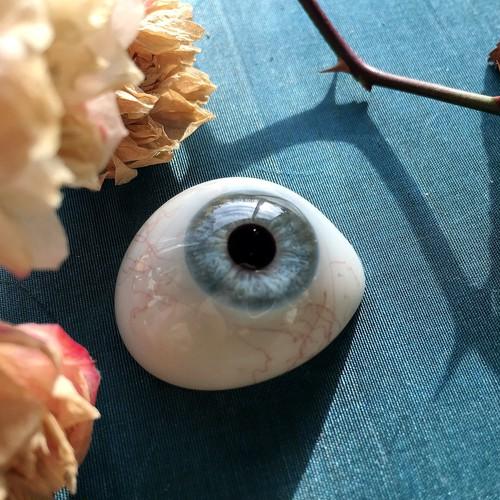 浅葱色の義眼