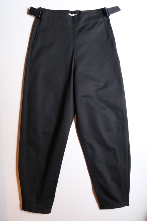 THE HINOKI オーガニックコットンチノ OSFAパンツ BLACK #19W-1