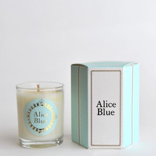 ALICE BLUE アロマソイキャンドル S