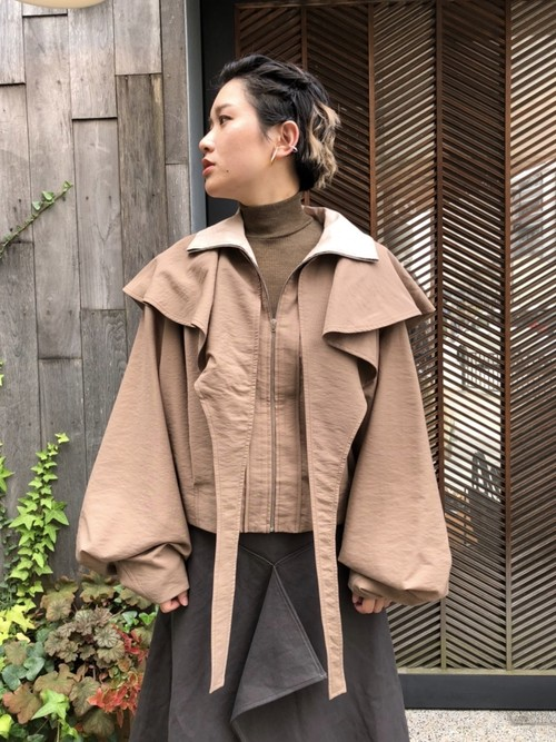 【20AW】LEMAIRE ルメール / Storm Flap Blouse