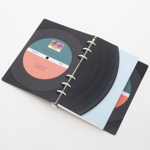 本物のレコードでできたノート Logu 001  | Logu-Records
