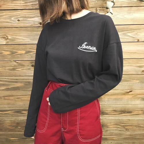 【SALE】刺繍ロゴロングTシャツ【&mode】