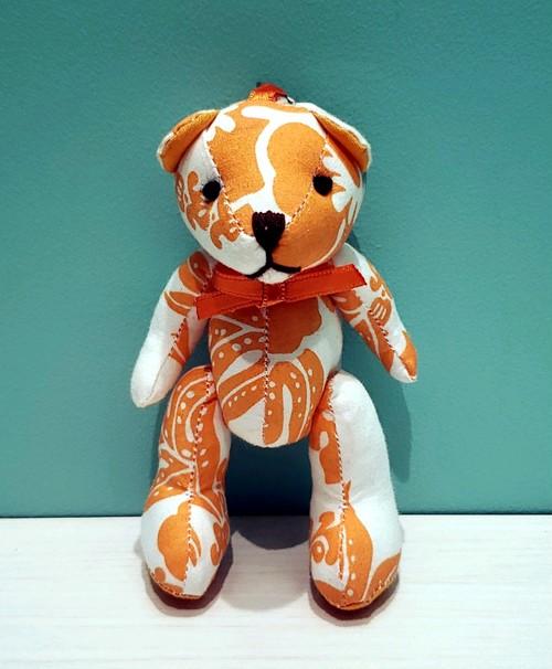 Bear Key Chain オレンジ