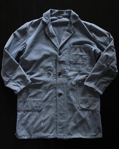 50s vintage Euro workers coat
