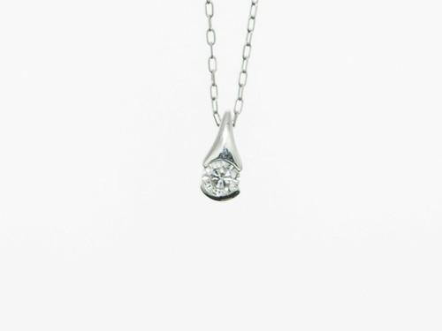 【宝石鑑別書】0.120ct UP ダイヤモンドネックレス PT900