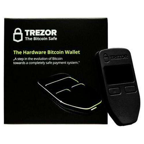 TREZOR(トレザー)ビットコインウォレット BLACK(ブラック)