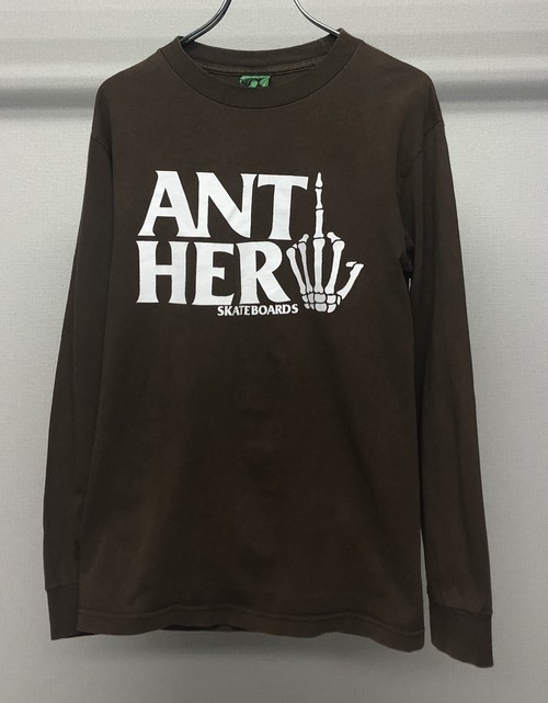 1990s ANTI HERO L/ST-SHIRT